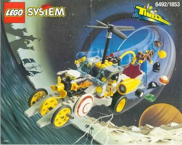 Lego Time Cruisers 1853 Navigator