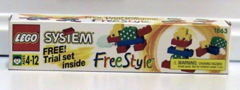 Lego Freestyle 1863 Freestyle Trial Set