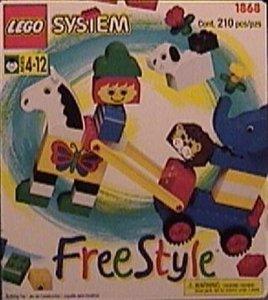 Lego Freestyle 1868 Freestyle Box