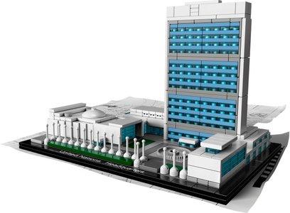 Lego Architecture 21018 United Nations Headquarters