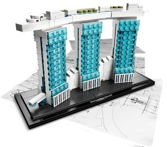 Lego Architecture 21021 Marina Bay Sands