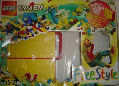 Lego Freestyle 2146 Freestyle with Storage Case
