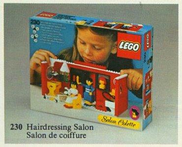 Lego Homemaker 230 Hairdressing Salon