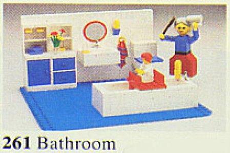 Lego Homemaker 261 Bathroom