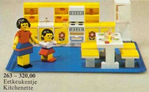 Lego Homemaker 263 Kitchen Set