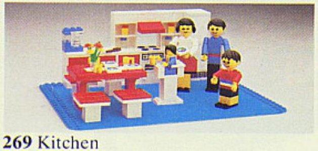 Lego Homemaker 269 Kitchen