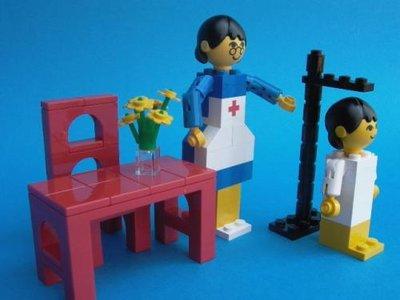 Lego Homemaker 276 Doctor's Office