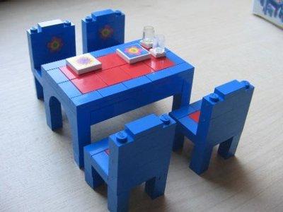 Lego Homemaker 290 Dining Suite
