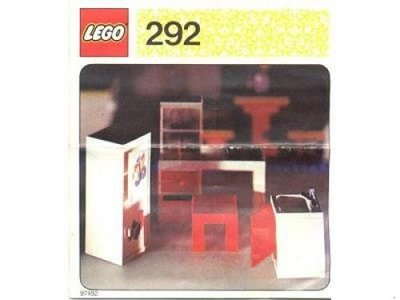 Lego Homemaker 292 Kitchen Sink and Cupboards