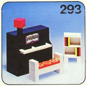 Lego Homemaker 293 Piano