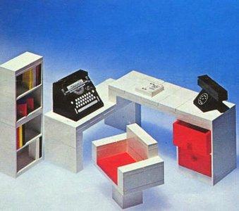 Lego Homemaker 295 Secretary's Desk