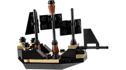 Lego Pirates of the Caribbean 30130 Mini Black Pearl