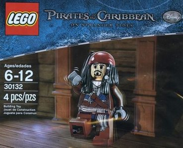 Lego Pirates of the Caribbean 30132 Voodoo Jack