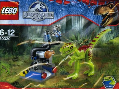 Lego Jurassic World 30320 Gallimimus Trap