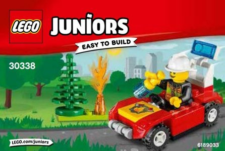 Lego Juniors 30338 Fire Car