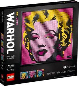 Lego LEGO Art 31197 Andy Warhol's Marilyn Monroe