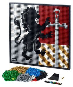 Lego LEGO Art 31201 Harry Potter Hogwarts Crests