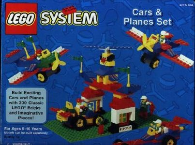 Lego Freestyle 3226 Cars and Planes