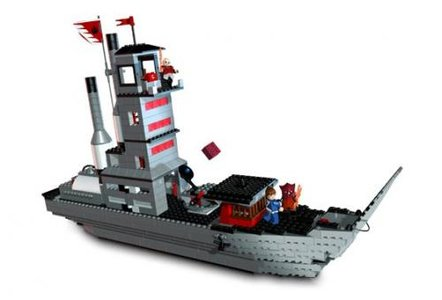 Lego Avatar 3829 Fire Nation Ship