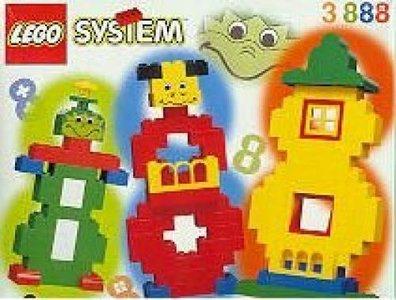 Lego Freestyle 3888 Three Eights