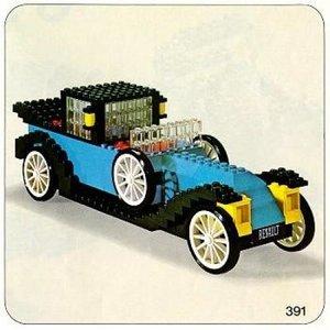 Lego Hobby Sets 391 1926 Renault