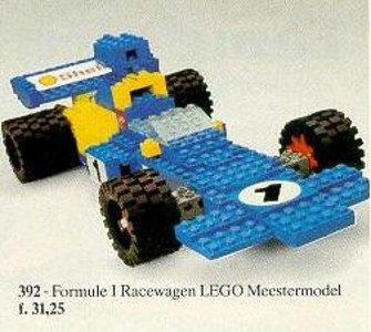 Lego Hobby Sets 392 Formula 1