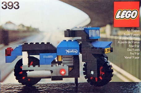Lego Hobby Sets 393 Norton Motorcycle