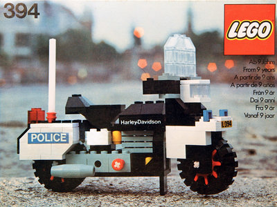 Lego Hobby Sets 394 Harley-Davidson 1000cc