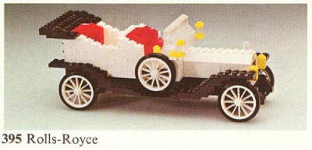 Lego Hobby Sets 395 1909 Rolls-Royce