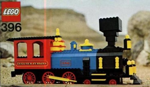 Lego Hobby Sets 396 Thatcher Perkins Locomotive