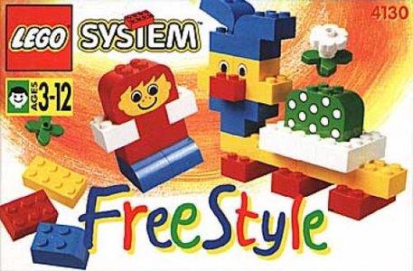 Lego Freestyle 4130 Freestyle Building Set