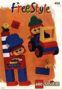 Lego Freestyle 4132 Freestyle Building Set