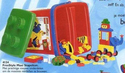Lego Freestyle 4134 Large Freestyle Bucket