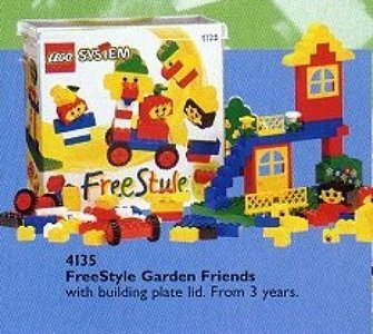 Lego Freestyle 4135 Freestyle Garden Friends