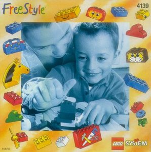 Lego Freestyle 4139 Freestyle Bucket