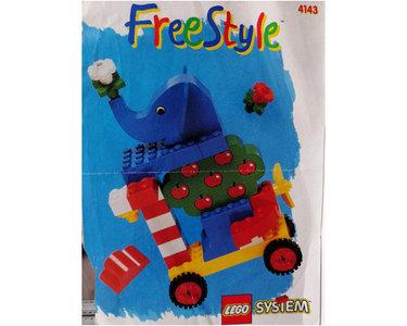 Lego Freestyle 4143 Freestyle Building Set