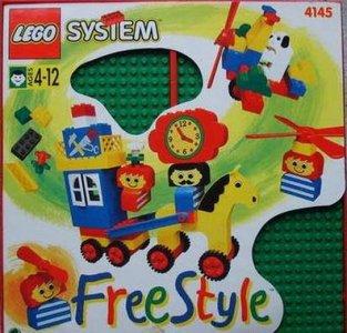 Lego Freestyle 4145 Freestyle Playcase