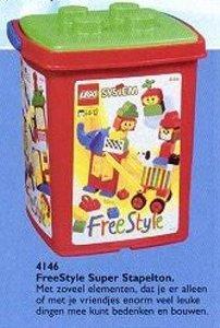 Lego Freestyle 4146 Extra Large Freestyle Bucket
