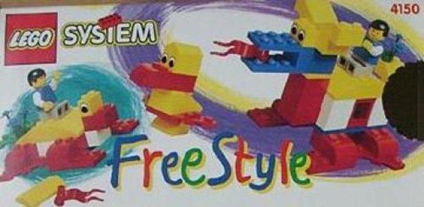 Lego Freestyle 4150 Freestyle Building Set
