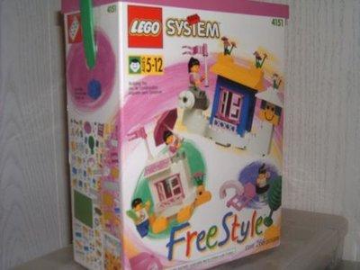 Lego Freestyle 4151 Girl's Freestyle Set