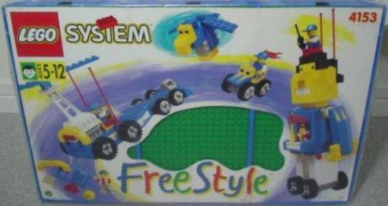 Lego Freestyle 4153 Large Freestyle Playcase