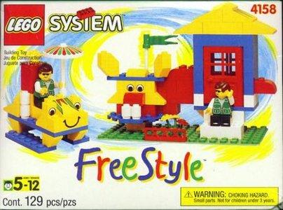 Lego Freestyle 4158 Small Freestyle Box