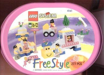 Lego Freestyle 4161 Girl's Freestyle Suitcase