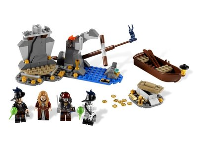Lego Pirates of the Caribbean 4181 Isla De Muerta