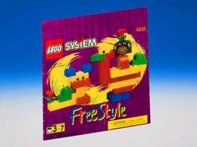 Lego Freestyle 4232 Freestyle Set