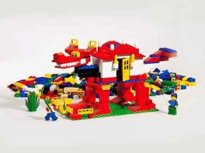 Lego Freestyle 4258 Big Box Play Scape