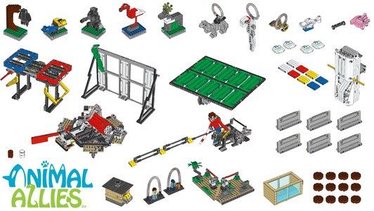 Lego FIRST LEGO League 45802 Animal Allies