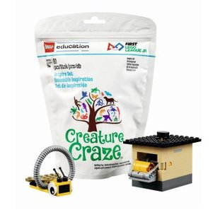 Lego FIRST LEGO League 45803 Creature Craze Inspire Set