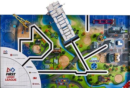 Lego FIRST LEGO League 45809 City Shaper