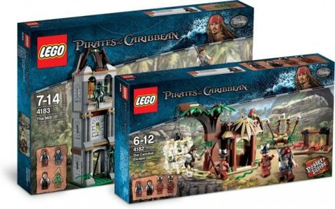 Lego Pirates of the Caribbean 5000021 Pirates of the Caribbean Classic Kit